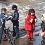 Winter in Roemenie